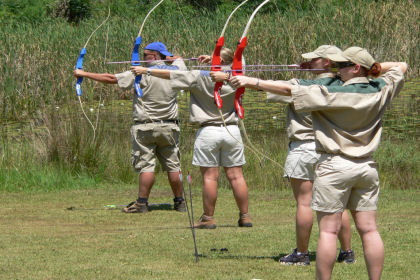 Team building Pretoria archery