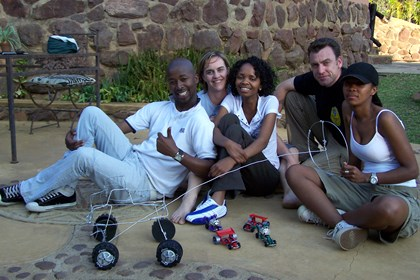 Team building Pretoria activity